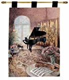 magnificent rustic outdoor kitchen ideas  MWW Grand Piano Music Room by Lena LIU Lined Tapestry Jacquard Wall Hanging with Rod, 26x36 Multi