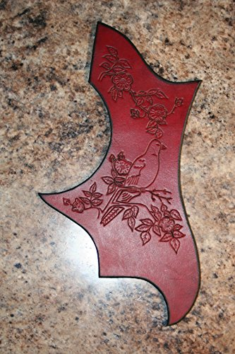 rd - Hand tooled Gibson Pick Guard Acoustic Guitar ()