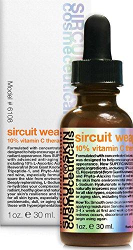 Sircuit Skin - SIRCUIT WEAPON+ 10% Vitamin C Therapy Serum, 1 oz.