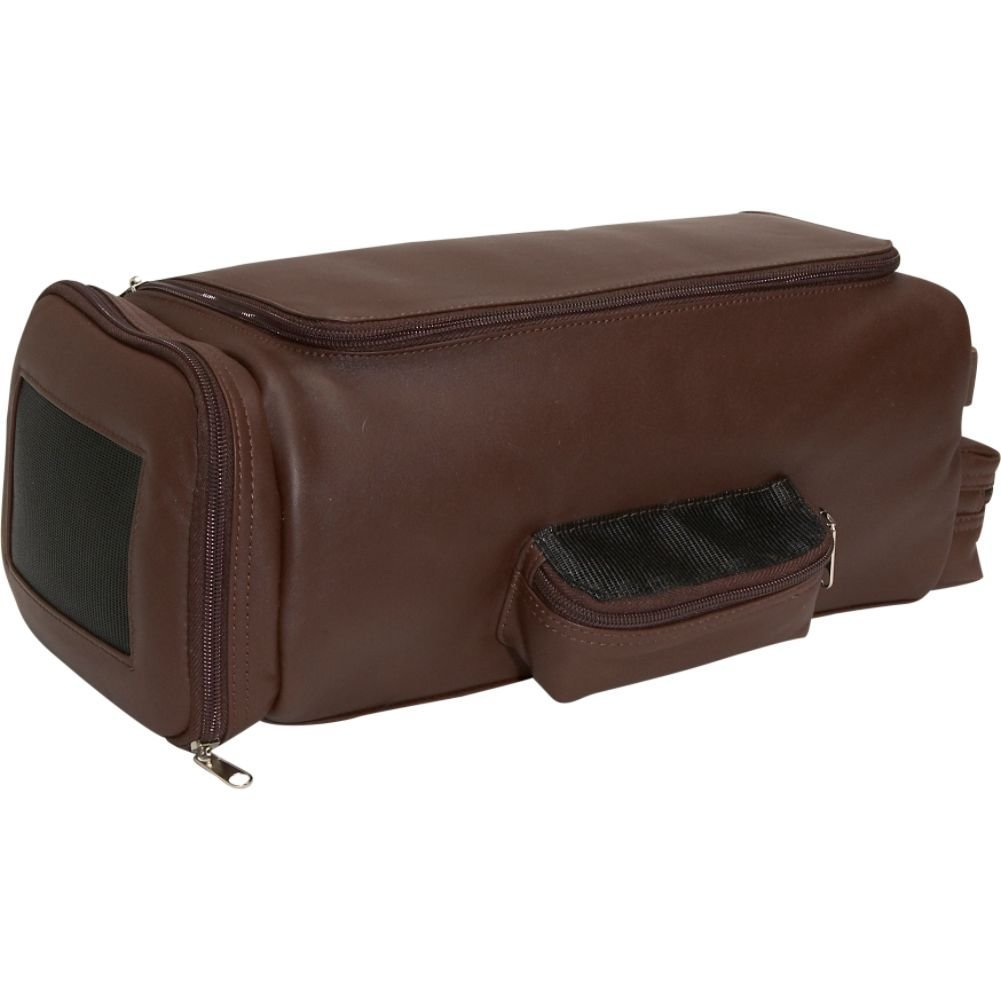 Royce Leather Golf Shoe and Accessory Bag (Coco)