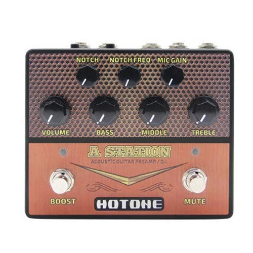 Hotone A Station Acoustic Preamp/DI Pedal