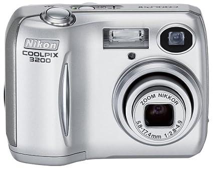 amazon com nikon coolpix 3200 3 2mp digital camera with 3x optical rh amazon com Nikon Coolpix 4200 Nikon Coolpix 3200 Memory Card