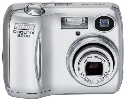 Nikon Coolpix 3200 3.2MP Digital Camera with 3x Optical Zoom (OLD MODEL)