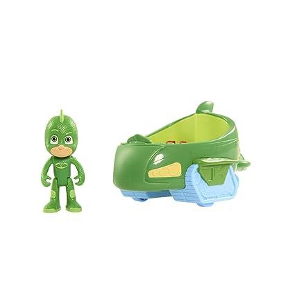 amazon com just play pj masks vehicle gekko and gekko mobile toys