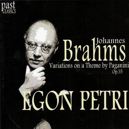Brahms: Variations on a Theme by Paganini, Op. 35