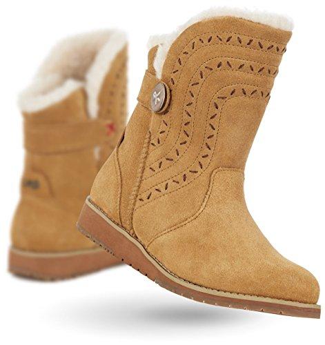 Emu Belah Lo Boot - Womens Kastanje