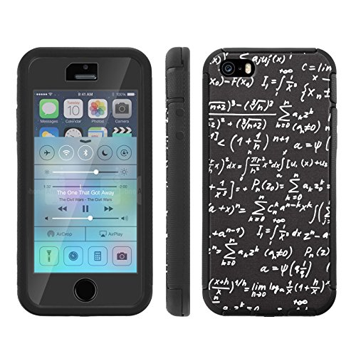 Mobiflare, Total Ballistic Jacket Phone Case, for [iPhone 5/5S] - Math Formula