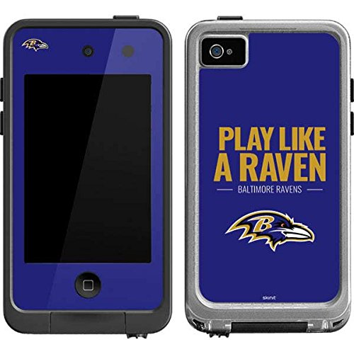 Baltimore Ravens Ipod Skin (Baltimore Ravens LifeProof fre iPod Touch 4th Gen Skin - Baltimore Ravens Team Motto | NFL X Skinit Skin)