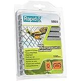 Rapid 40108806 VR22 - Caja de grapas galvanizadas para anillado (1100 unidades)