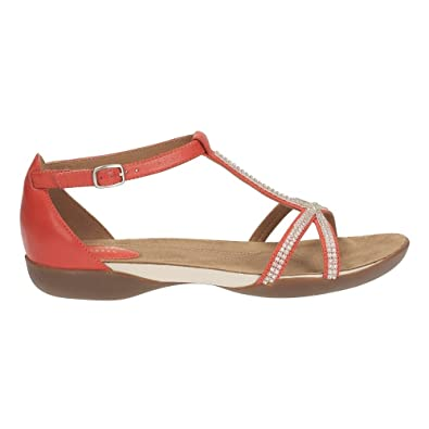 cbadf1162837f Clarks Raffi Star Womens Casual Sandals 9 Grenadine Leather  Amazon ...