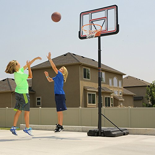 081483012698 - Lifetime 1269 Pro Court Height Adjustable Portable Basketball System, 44 Inch Backboard carousel main 7