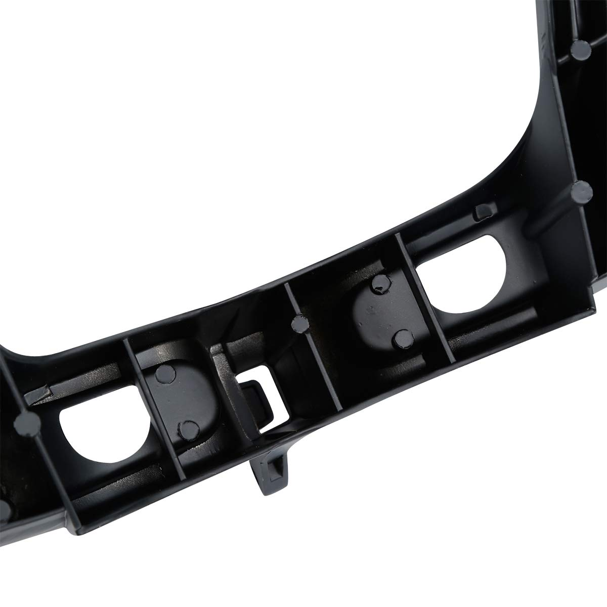 XMT-MOTO Headlight Upper Stay Fairing Cowl Bracket For SUZUKI GSXR600//GSXR750 2004-2005 Black,1 PCS