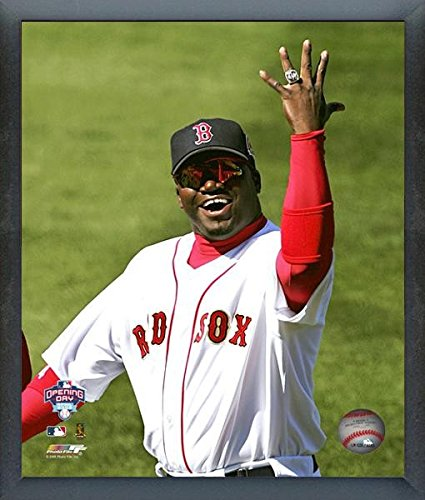 (MLB David Ortiz Boston Red Sox Ring Ceremony Photo (Size: 12