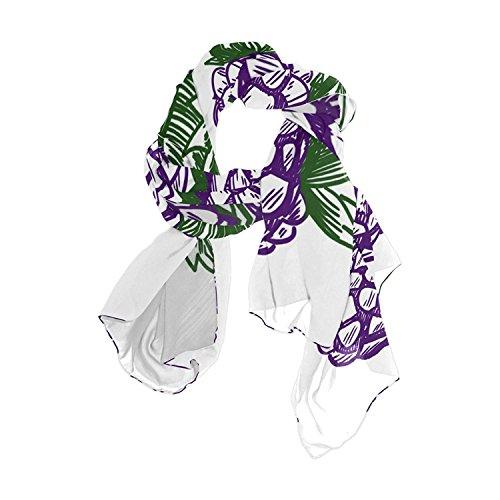 Scarfs for Women Blackberry Lightweight Fashion Long Shawl Wraps
