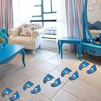Amazon Com Footprints Wall Or Floor Decal Home Decor