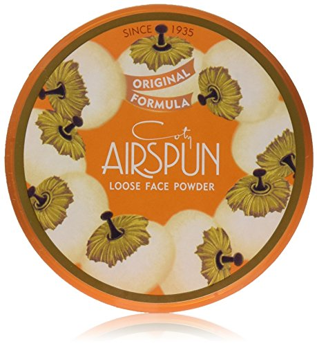 Coty Airspun Loose Face Powder 2.3 oz. Translucent Tone Loose Face Powder, for Setting Makeup or as Foundation, Lightweight, Long (Highlighting Powder)