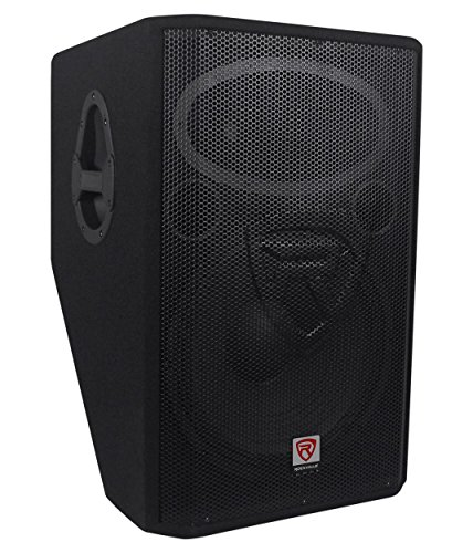 "Rockville RSM15P 15"" 1400 Watt 2-Way Passive Stage Floor Mon"