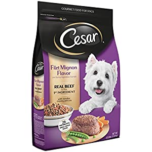 Cesar Small Breed Dry Dog Food Filet Mignon Flavor Real Beef Net Wt. 12.0 lbs 84
