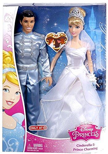 Disney Princess Cinderella Cinderella & Prince Charming Doll