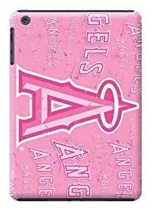 LarryToliver Baseball Los Angeles Angels Pink color case battery cover for ipad mini