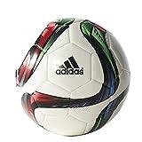 adidas Performance Conext15 Glider Soccer Ball, White/Night Flash Purple/Flash Green, Size 4