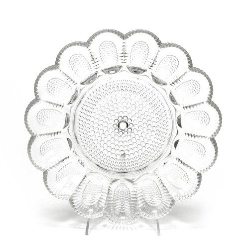 Hobnail Clear by Indiana, Glass Deviled Egg Plate Indiana Glass Glass Plates