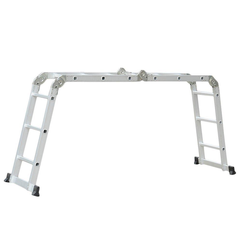 /Échelle Pliante Hongyans /Échelle Extensible en Aluminium Multifonction avec Charni/ères de S/écurit/é R/ésistance /à 150Kg