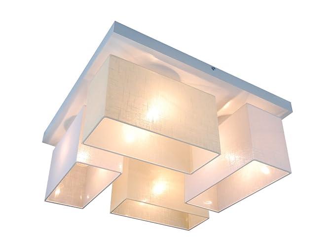 Plafoniere Inox Soffitto : Plafoniera illuminazione a soffitto in legno massiccio jls45wed