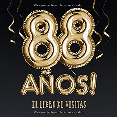 88 años - El libro de visitas: Decoración para el 88 ...