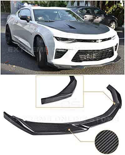 X AUTOHAUX 2.5m Univesal Front Bumper Lip Splitter Body Side Skirt Protector Black for Car
