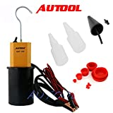 Autool Car Smoke Machines SDT-106 Cars Leak Locator Automotive Diagnostic Leak Detector SDT106 Support Pipe Systems /Motorcycle / Cars / SUVs / Truck Smoke Leakage Tester
