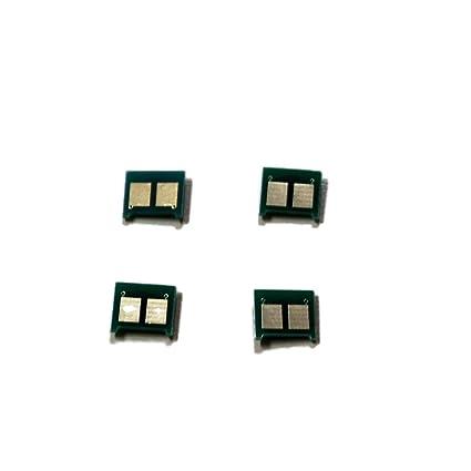 tm-toner © 4 tambor Reset Chips para HP LaserJet CP1025 1025 NW ...