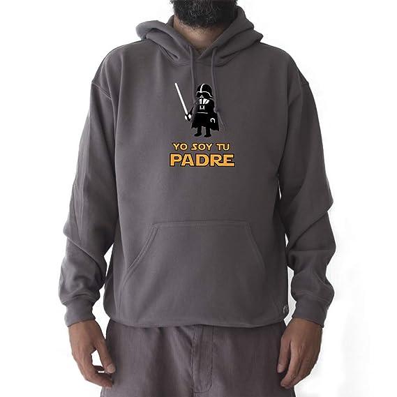 GAMBA TARONJA YO Soy TU Padre - Sudadera - Star Wars - Darth Vader: Amazon.es: Ropa y accesorios