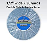 Sobe Organics Lace Front Tape Roll, 1/2-Inch X 36 yards