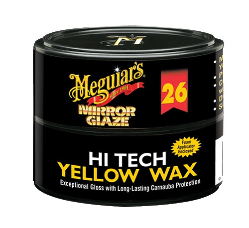 Meguiar's M2611 Mirror Glaze Hi-Tech Yellow Wax, 11 Ounce Paste