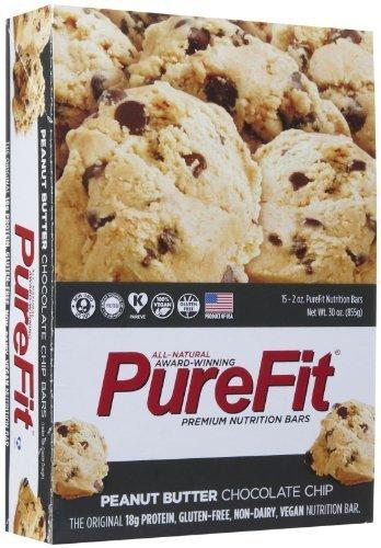 PureFit Bars - Peanut Butter Chocolate Chip - 2 oz - 15 ct