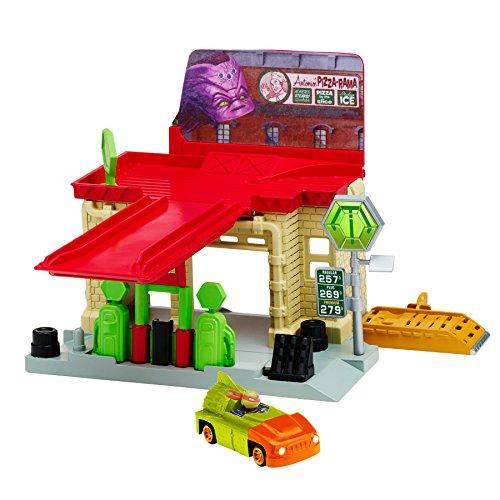 (Teenage Mutant Ninja Turtles T-Machines Sewer Gas Station Playset)