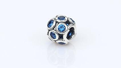 amazon com pandora 791153nsb blue whimsical lights charm home