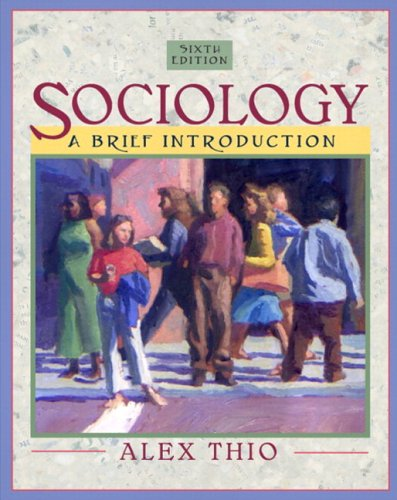 Sociology: A Brief Introduction (with Study Card) (6th Edition) (Mysockit)