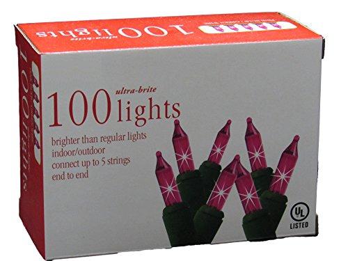 Pink Indoor Outdoor Lights