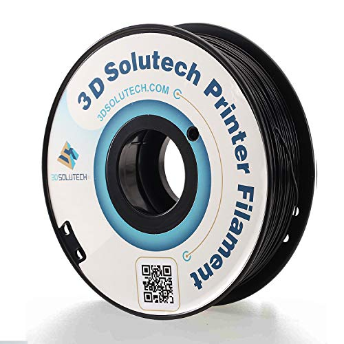 3D Solutech Real Black 3D Printer PLA Filament 1.75MM Filament