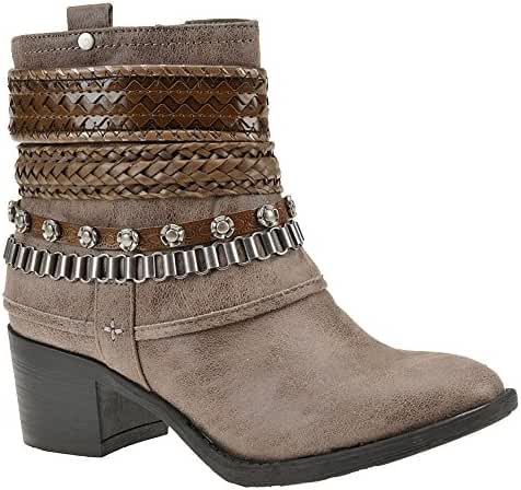 Carlos by Carlos Santana Women's Cole Ankle Boot