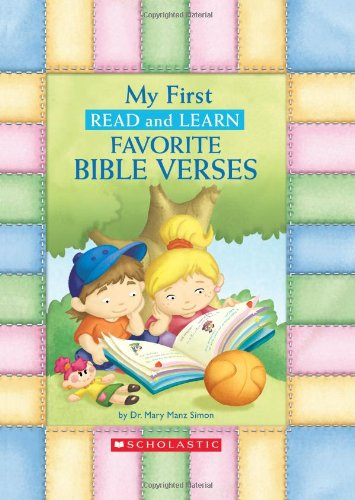 Learning Bible Verses - My First Read And Learn Favorite Bible Verses