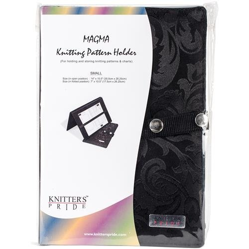 Magma Knitting Fold-Up Pattern Holder 7''''X10.5''''- by Knitter's Pride