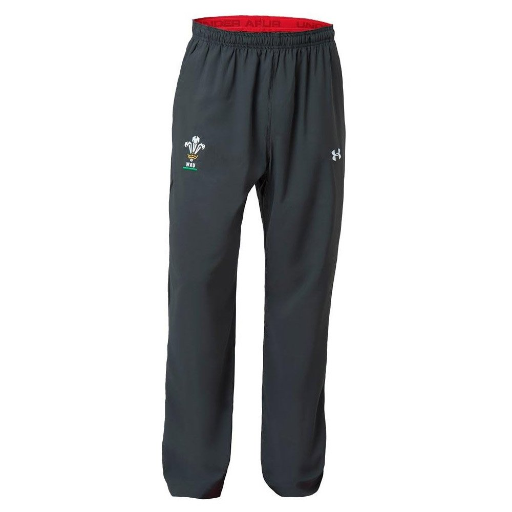 Under Armour 2018-2019 Wales Rugby WRU Travel Pants (Anthracite)