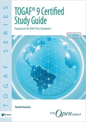 amazon com togaf 9 certified study guide 9789087537425 van haren