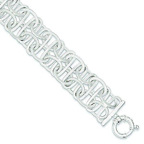 """Bracelet Femme-Argent 925/1000-Fancy-JewelryWeb 7,75 """""""
