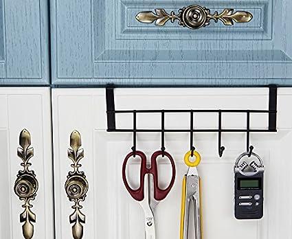 Amazon Ruiling 2 Pack 5 Hook Over The Cabinet Door Hanger