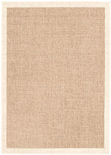 """eCarpetGallery Sisal Classic Area Rugs, 3'11"""" X 5'7"""", Taupe-Champagne from eCarpet Gallery"""