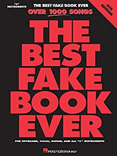 The Best Fake Book Ever: C Edition (0634034243) | Amazon Products